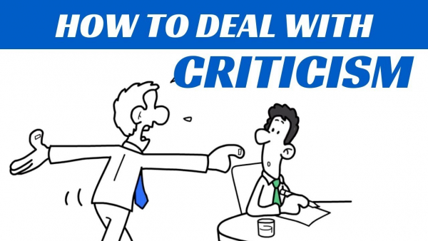 7 STEPS TO HANDLE CRITICISM AT WORK
